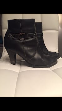 Ankle booties, sz 8
