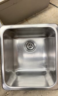 Stainless steel sink for laundry room or whatever used like new  Hamilton