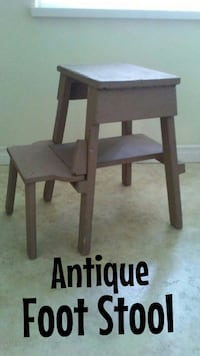 Antique Foot Stool , $10 firm