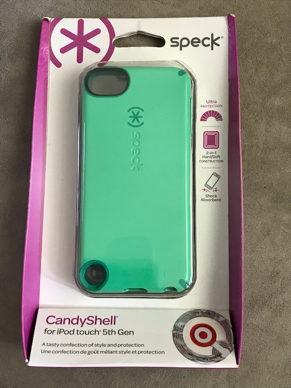 best service 4ab9f d0284 green Speck candyshell iPod touch 5th gen case
