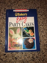 Party cakes book