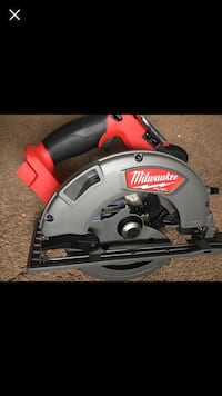 """Milwaukee new CIRCULAR SAW : 71/4"""" 18M - FUEL- BRUSHLESS (tool only ) Circular nuevo Los Angeles, 91406"""