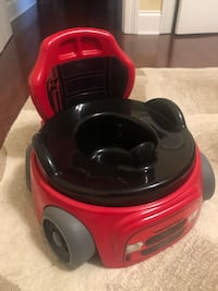 Potty training seat - red race car  Metairie, 70001