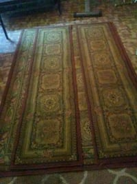 brown and green area rug North Little Rock, 72114