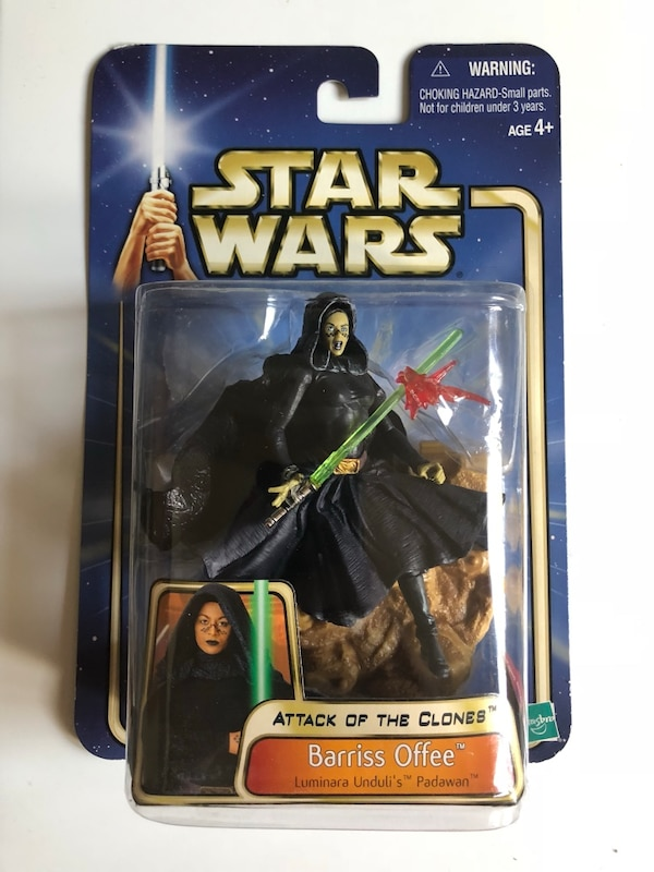 Star Wars Barriss offer action figure