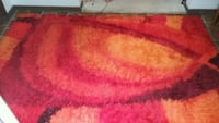 Bright rug. Red, orange, yellow Sussex County, 07422