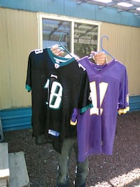 two purple and black jersey shirts Yakima, 98901