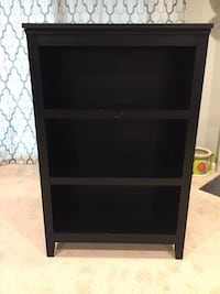 black wooden 3-layer shelf Arlington, 22205