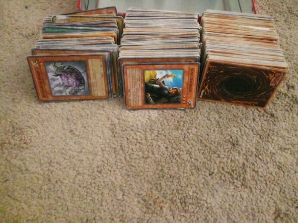 Yu-Gi-Oh ! trading card collection