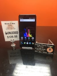 Unlocked / Any Carrier ZTE Blade Z Max Temple Terrace, 33617