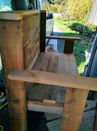 Hand Crafted Barn Wood Bench Abbotsford