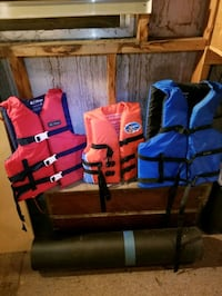 Life vests Edmond