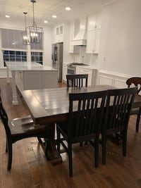 Farmhouse style dining room table Ashburn, 20147