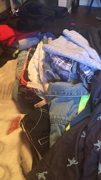 Size 4t/5t boys clothes. Jackets and shoes. Pick up only  Edmonton, T5X 2B7