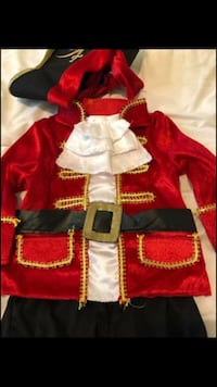 6-16 Months Halloween Pirate Costume