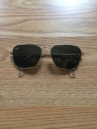 silver framed Ray-Ban aviator sunglasses Washington, 20004