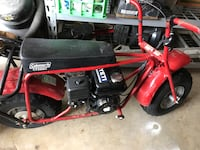red and black Coleman minibike Brandon, 39047