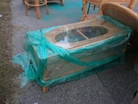 green and brown wooden picnic table Randolph, 02368
