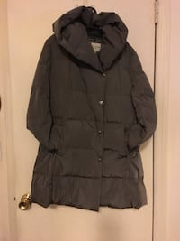 Cole Haan grey coat size XL comfy light grey. The