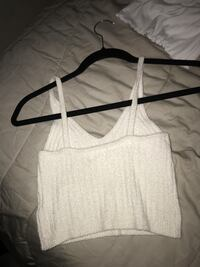 Urban outfitters White scoop-neck sleeveless crop top Phoenix, 85023