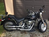 2005 harley davidson flstf fatboy.  not quite 20,000 miles.  just broken in.  runs and sounds awesome.  plenty of chrome and screaming eagle 2 pipes.  great starter bike, or upgrade from a sportster!  Title in hand!