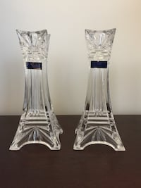Waterford Crystal Candlesticks New York, 10016