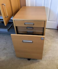 brown wooden file cabinet Ashburn, 20147