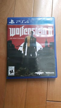 Wolfenstein 2 for PS4 Mississauga, L4Y 3C6