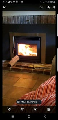 Start your winter savings now with wind burning fireplace insert