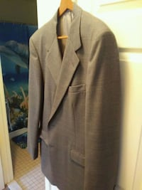 Grey Suit Jacket-Lg. Like New Chillum, 20782
