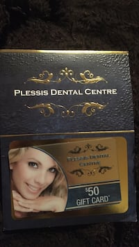 Plessis dental centre gift card  Winnipeg, R2L 0R1