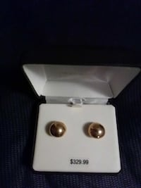pair of gold-colored stud earrings Rochester, 14609