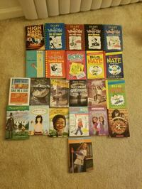 Books. Diary of a Wimpy Kid, etc Jessup, 20794