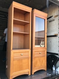 Tv ends, bookcases- solid wood