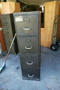 Black 4 drawer file cabinet  Saint Cloud, 34769