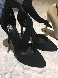Shoes size 7 New-Ankle strap high stiletto heels