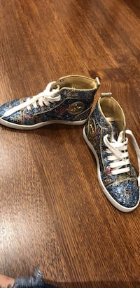 christian louboutin sneakers like new