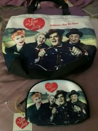 I Love Lucy purse and wallet