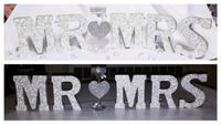 "Small Custom letters ""MR. AND MRS"""