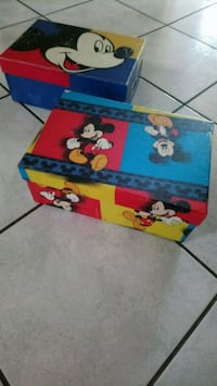 Mickey Mouse boxes Calgary, T3J 1M9