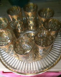 Set of Glasses and server Boyce, 22620