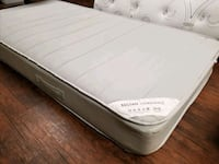 Twin /single mattress 60$ delivery 30. Clean no stains pet smoke free  Edmonton, T5A 4H3