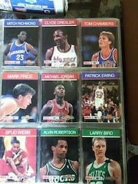 Pro basketball collectors cards
