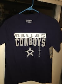 Youth new cowboys shirt size 10-12