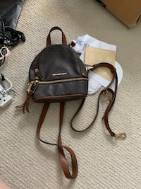 Authentic Mikhael Kors Small Convertible Backpack