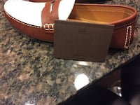 Louis Vuitton brown and white leather loafer in great condition. It retails for $630. Fairfax, 22033