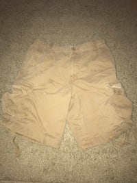 Urban pipeline cargo shorts size 34 brown  47 km