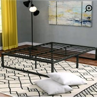 Metal Bed Full Size  550 km