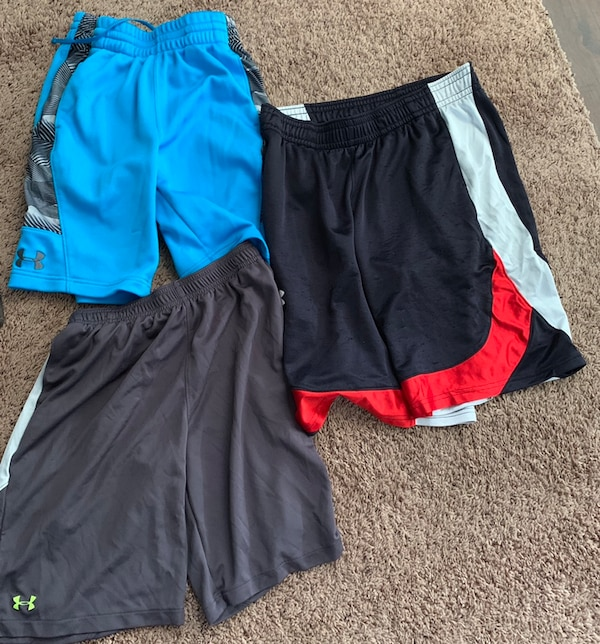 b1c2bceee Used Boys size large under armour shorts for sale in Plano - letgo