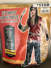 Brand new child pirate costume Whitby, L1M 1H5